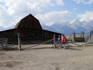 Biking in Wyoming!